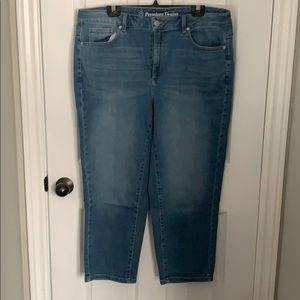 Additon Elle slim ankle jeans